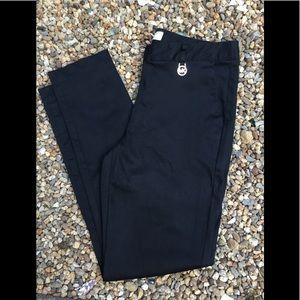 Michael Kors black, skinny leg pant. 15w 27L